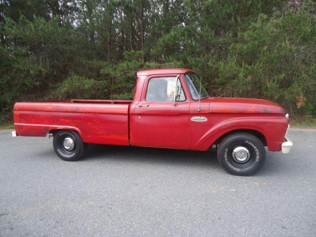 1965 ford f 100 long bed pickup truck. Black Bedroom Furniture Sets. Home Design Ideas