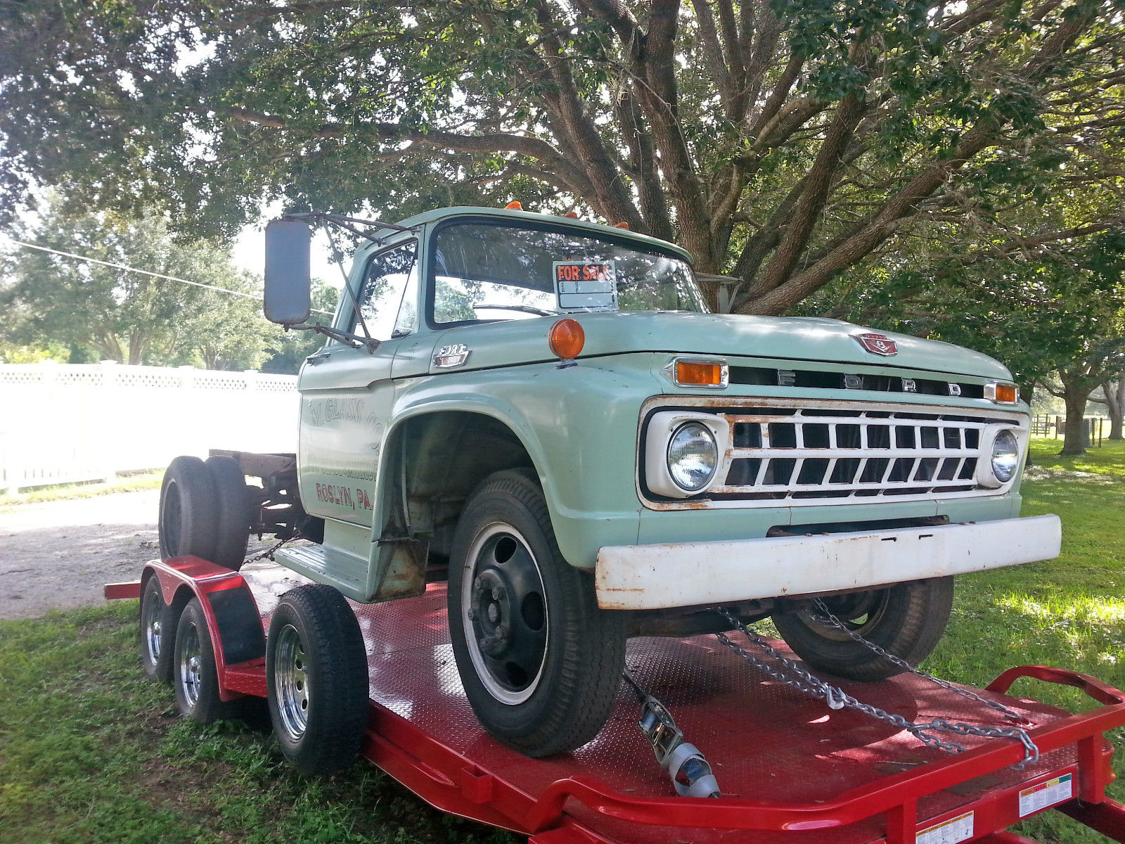 1965 Ford F 500 Classic Truck Hauler Not 350 250 150 For