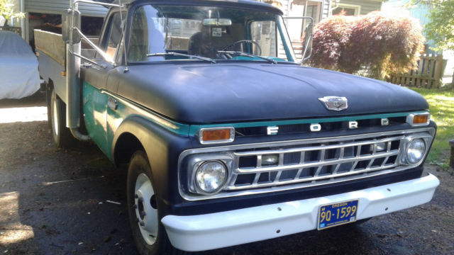 Dually Flatbed For Sale >> 1965 Ford f350 flatbed pick-up truck: Rat Rod Mild Custom Dually for sale: photos, technical ...
