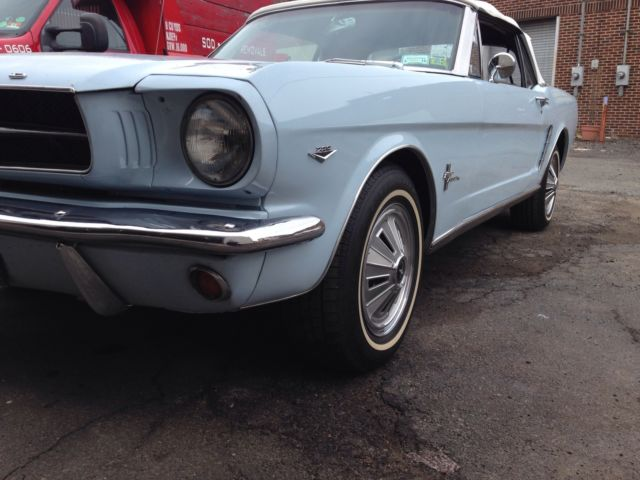 1965 Ford Mustang Convertible Ice Cold Air Conditioning