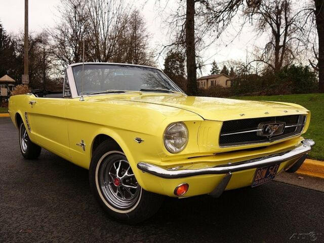 1965 ford mustang convertible w pwr top c code 289 v8. Black Bedroom Furniture Sets. Home Design Ideas