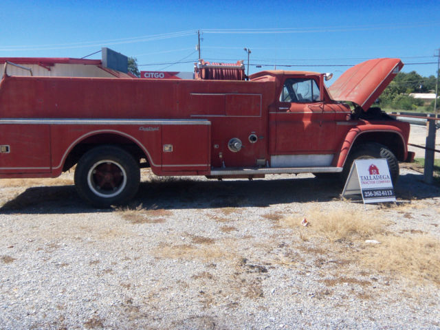 1965 gmc 5000 fire truck for sale in talladega alabama united states. Black Bedroom Furniture Sets. Home Design Ideas