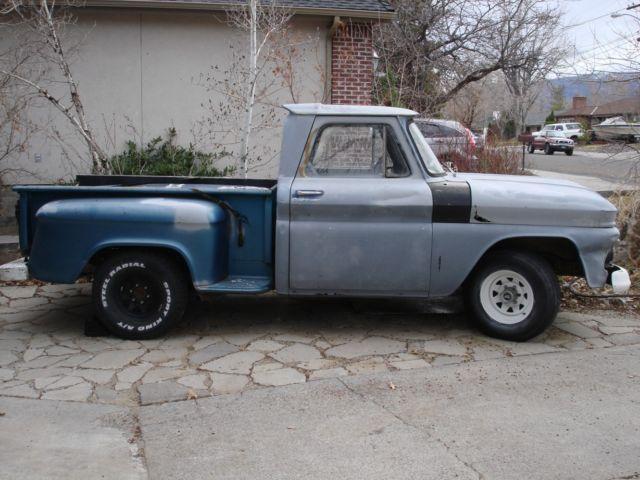 1965 gmc short bed stepside f36 c 10 pickup truck for sale in reno nevada united states. Black Bedroom Furniture Sets. Home Design Ideas