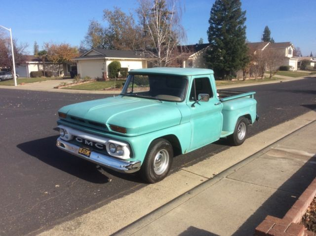 1965 Gmc Stepside Pickup  Like A 65 Chevy C10 For Sale