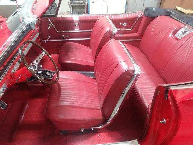 1965 Corvette For Sale >> 1965 IMPALA SS CONVERTIBLE 396 4 SPEED FRESH FRAME OFF ...