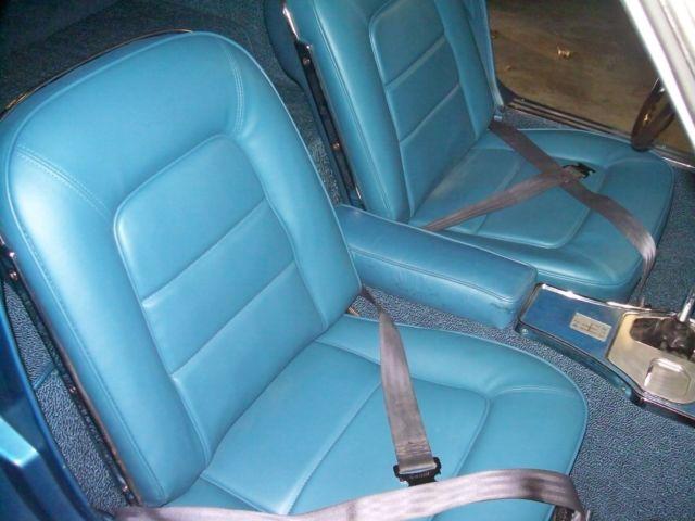 1965 l 78 big block corvette very rare color black bright blue interior. Black Bedroom Furniture Sets. Home Design Ideas