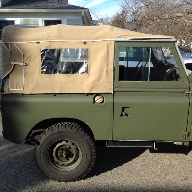 1965 Landrover Series IIa For Sale In York Beach, Maine