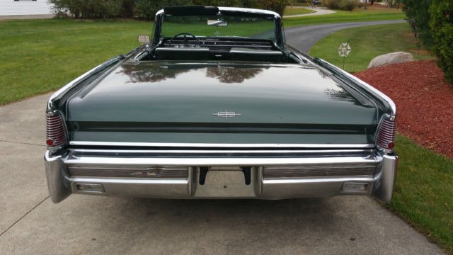 1965 lincoln continental 4dr convertible rare classic car. Black Bedroom Furniture Sets. Home Design Ideas