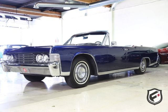 1965 lincoln continental convertible 16343 miles. Black Bedroom Furniture Sets. Home Design Ideas