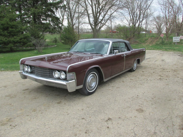 1965 lincoln continental convertible build sheet 3 owners see video 64 63 66 62 for sale in. Black Bedroom Furniture Sets. Home Design Ideas