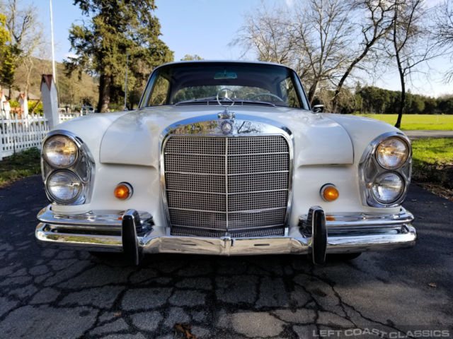 1965 Mercedes Benz 220se Coupe W111 1 Family Owned California Car For Sale Photos Technical Specifications Description