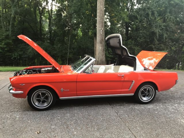 1965 Mustang Convertible Gorgeous 3 Owner 351 Windsor