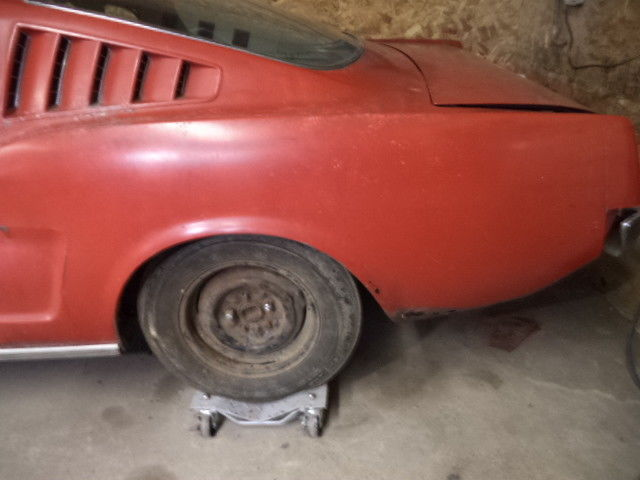 Mustang Fastback Hi Po Speed Rear End True K Code Miles on 1965 289 Mustang Engine Number Location