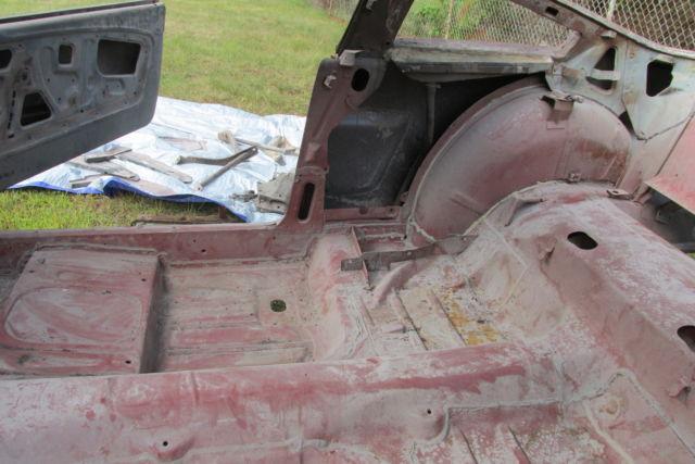 1965 Mustang Price >> 1965 MUSTANG FASTBACK NOS SHEET METAL, ROLLING BODY, FORD ...
