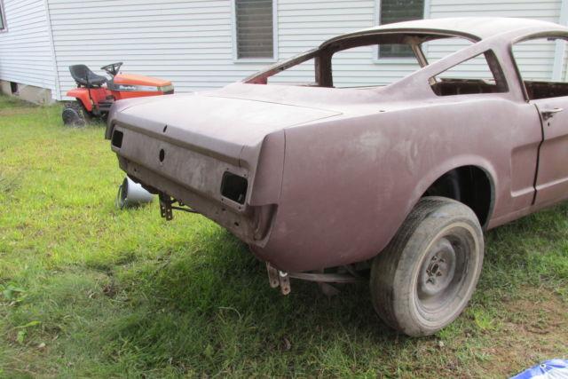 1965 mustang fastback nos sheet metal rolling body ford project car. Black Bedroom Furniture Sets. Home Design Ideas