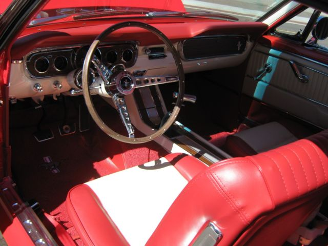 1965 Mustang Gt Fastback W Delux Interior