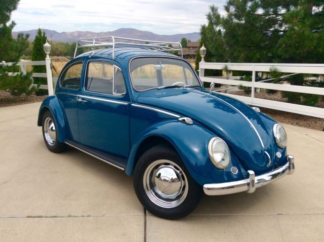 1965 Volkswagen Vw Bug Beetle New Engine Paint Interior Amp More Nice For Sale In Reno
