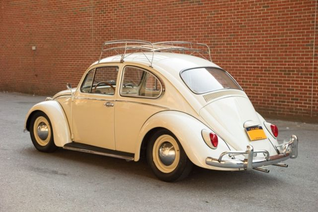 1965 vw beetle pearl white for sale in new york new york united states. Black Bedroom Furniture Sets. Home Design Ideas