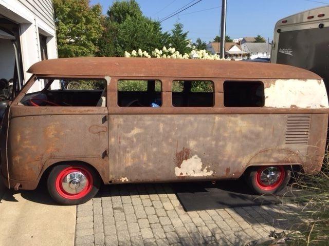 1965 Vw Volkswagen Custom Chopped Split Window German Bus