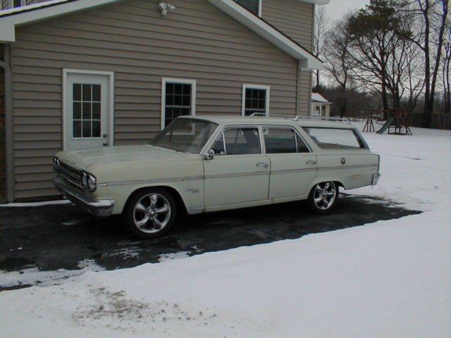 1966 Amc Rambler Classic 770 Station Wagon 232 Auto