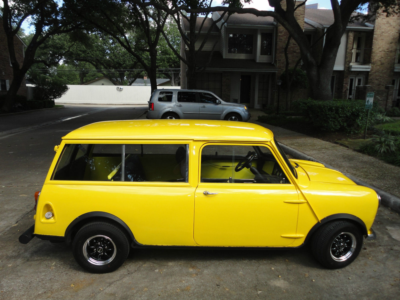 1966 austin mini countryman wagon for sale in houston texas united states. Black Bedroom Furniture Sets. Home Design Ideas