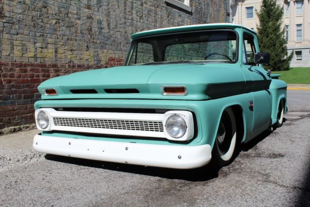 1966 C10 Chevrolet Shop Truck Hot Rod Truck Air Ride Low