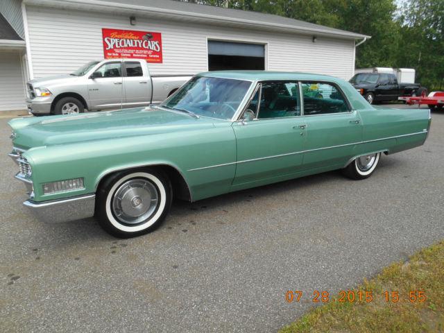 1966 Cadillac Calais Base Sedan 4 Door 7 0l For Sale In Iron