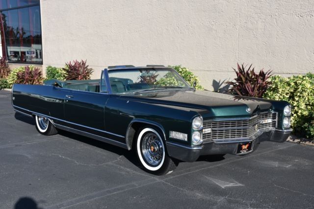 Used Car Value By Vin >> 1966 Cadillac ElDorado Tropic Green Firemist 0 Tropic ...