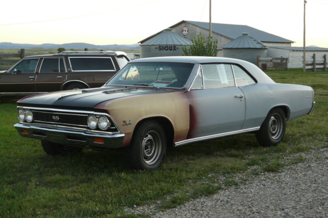 1966 Chevelle Ss 396 4 Speed Bench Seat For Sale In Vale