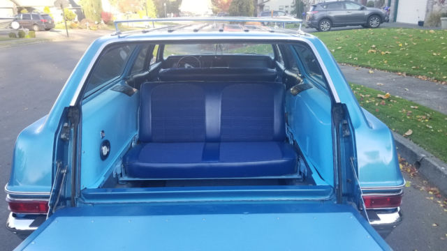 1966 chevrolet belair station wagon with 3rd row seat 327 very nice car. Black Bedroom Furniture Sets. Home Design Ideas