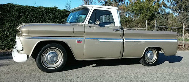 1966 Chevrolet C10 shortbed fleetside small window for sale
