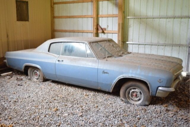 1966 Chevrolet Caprice Base Hardtop 2-Door 327  BARN FIND for sale