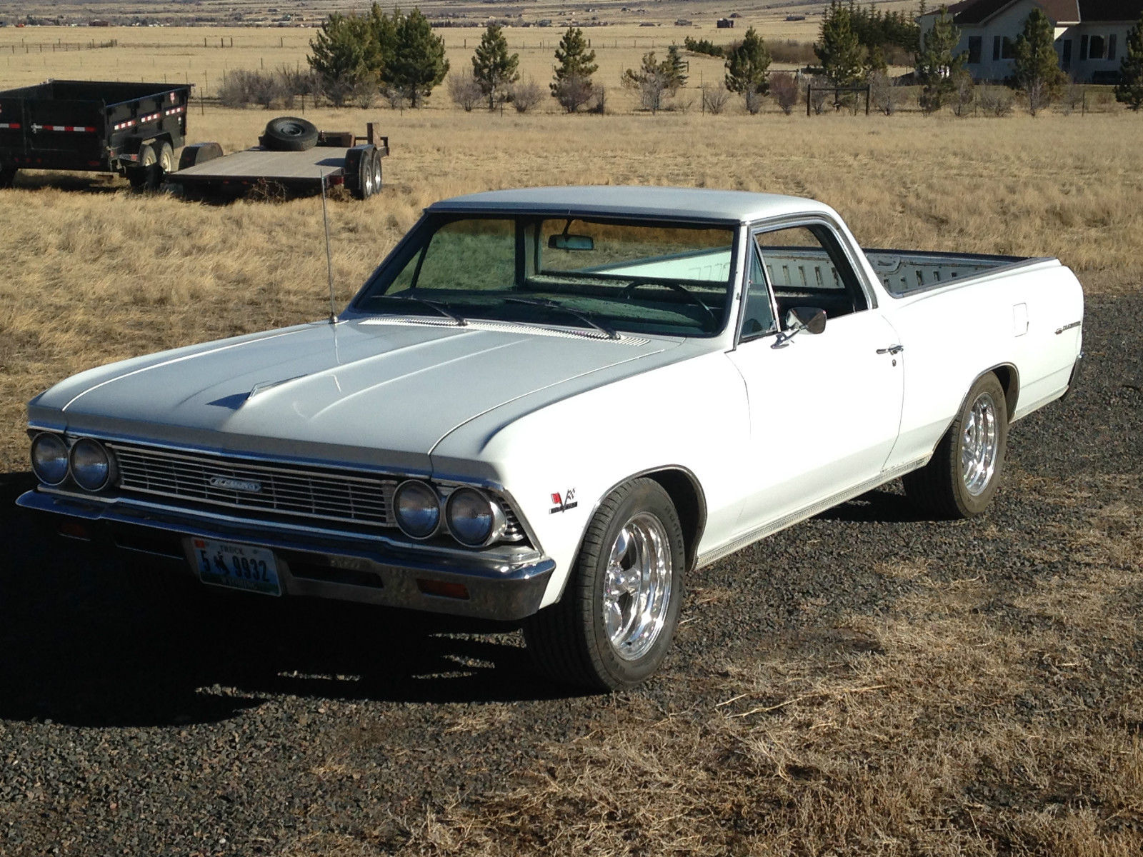 1966 Chevrolet Chevelle El Camino Survivor Just Out Of Storage 454 Ss