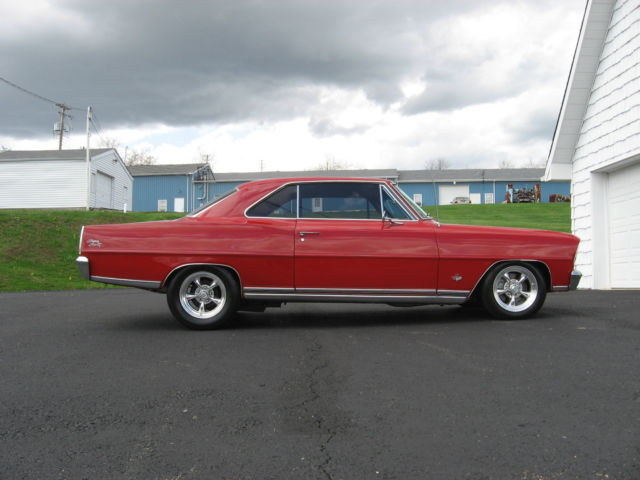 1966 Chevrolet Chevy Ii Nova Ss For Sale In Ortonville