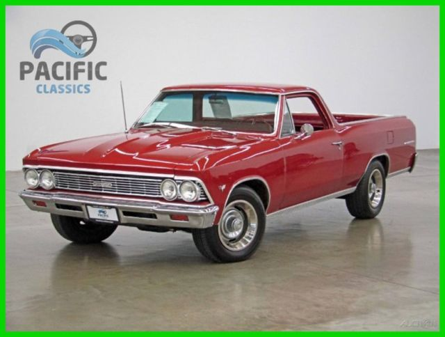 1966 Chevrolet El Camino For Sale In Nice California: 1966 Chevrolet El Camino Matching Numbers 327 V8