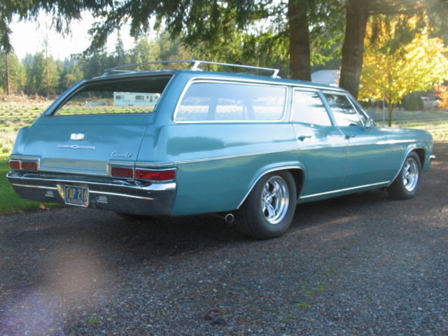 1966 Chevrolet Impala 9 Pass Station Wagon For Sale In