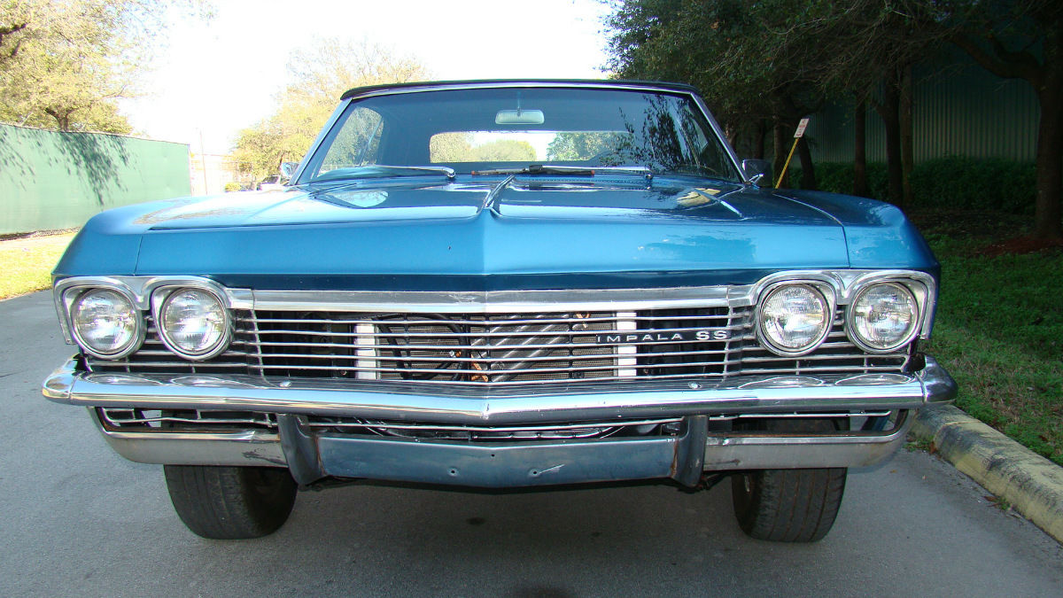 1966 Chevrolet Impala Ss Convertible Automatic 327 Classic Chevy