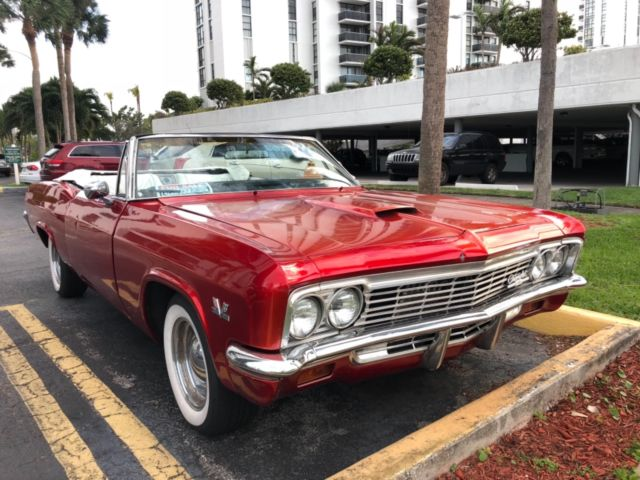 1966 Chevrolet Impala Ss Convertible Clic Antique Hot Rod