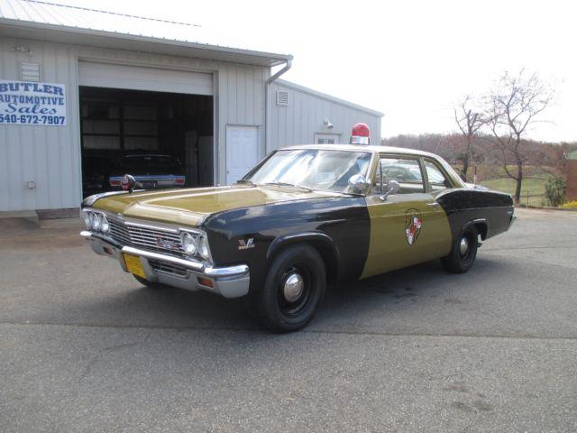1966 Chevy Biscayne 2 Door Maryland State Police Car Big