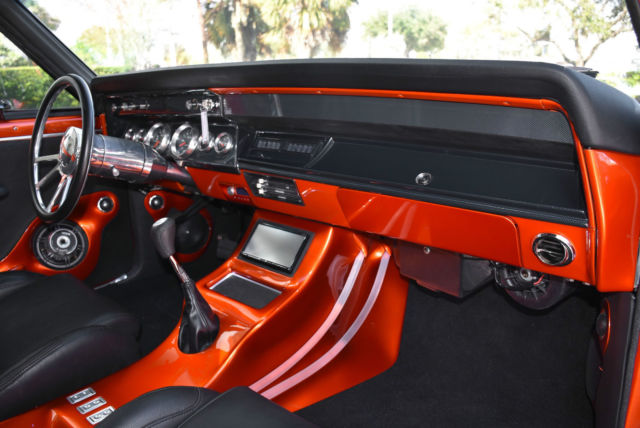 1966 CHEVY CHEVELLE RESTO MOD! CUSTOM PAINT! BIG BLOCK 502 ...