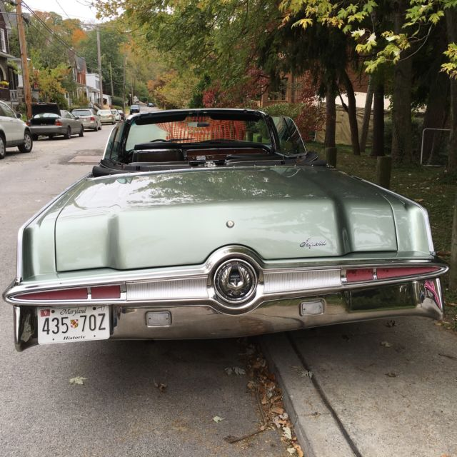 1966 Chrysler Imperial Convertible. A Joy To Drive !! For
