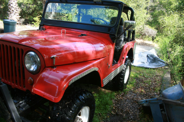 1966 cj 5 jeep with factory v6 engine for sale in boulder. Black Bedroom Furniture Sets. Home Design Ideas