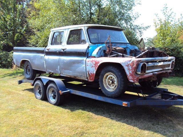 1966 Crew Cab Pickup For Sale In Aldergrove British