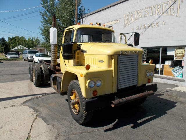1966 Dodge Cnt900 Diesel Truck Cabover Cummins Semi For
