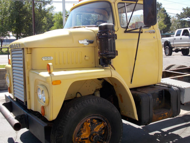1966 Dodge Cnt900 Diesel Truck Cabover Cummins Semi For