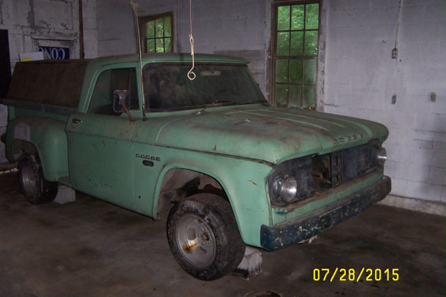 Ga Bill Of Sale For Car >> 1966 Dodge D100 Stepside Pickup for sale in Carrollton ...
