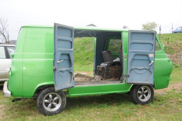 1966 ford 8 door econoline van for sale in roanoke virginia united states. Black Bedroom Furniture Sets. Home Design Ideas
