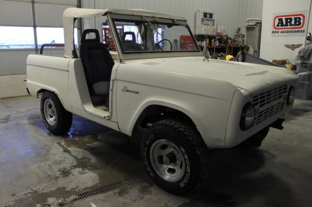 9e55c2013d 1966 Ford Bronco Factory Soft Top Half Cab! 40K orig. miles! NO RESERVE!!!  for sale in Sheridan