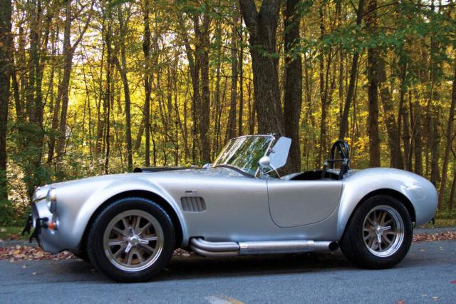 """Ct Dmv Bill Of Sale >> 1966 Ford Cobra Replica 4693 Miles Silver - 5spd Tremec TKO 600, Ford 9"""" for sale: photos ..."""
