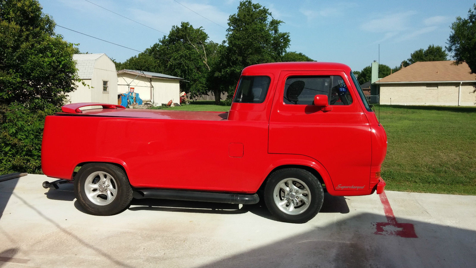 1966 ford econoline pickup for sale in pflugerville texas united states. Black Bedroom Furniture Sets. Home Design Ideas